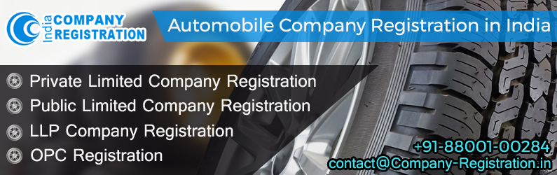 Automobile Company Registration
