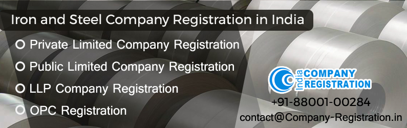 Iron and Steel Company Registration